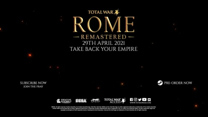 Total War: Rome Remastered - Quality of Life Update Trailer